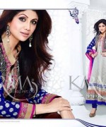 Shilpa Shetty Anarkali Suits 2014 for Girls007