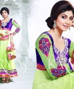 Shilpa Shetty Anarkali Suits 2014 for Girls