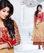 Shilpa Shetty Anarkali Suits 2014 for Girls014