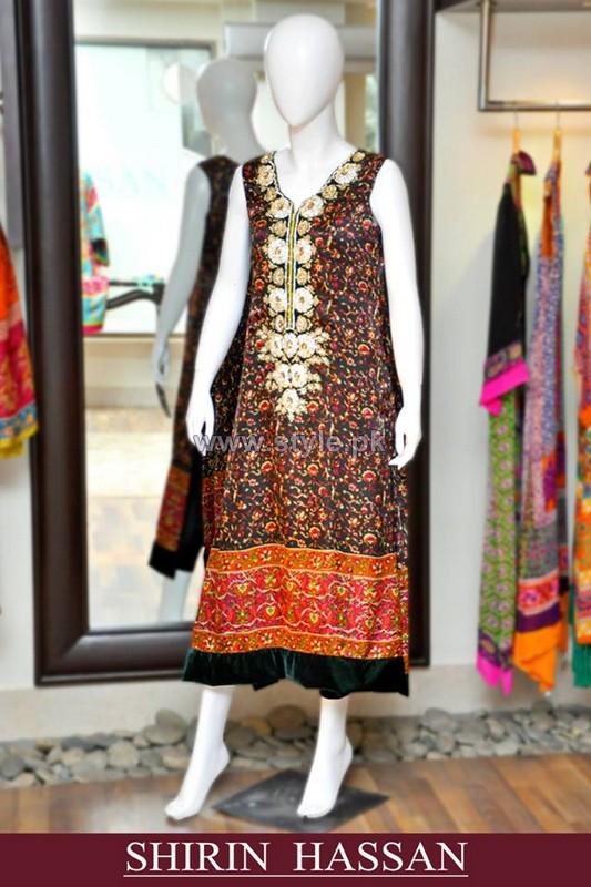 Shirin Hassan Winter Arrivals 2014 For Women 9