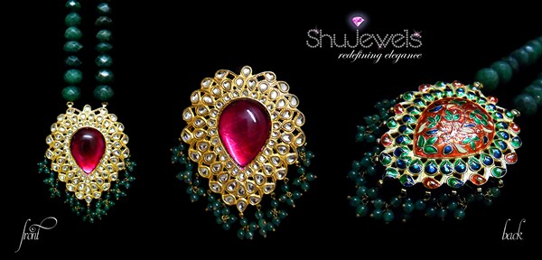 Shujewels Jewellery Designs 2014 For Women 006