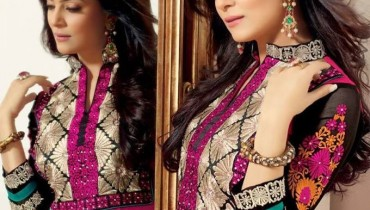 Sushmita Sen Anarkali Frocks 2014 for Girls007