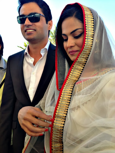 Veena malik Wedding Pic 06 celebrity gossips