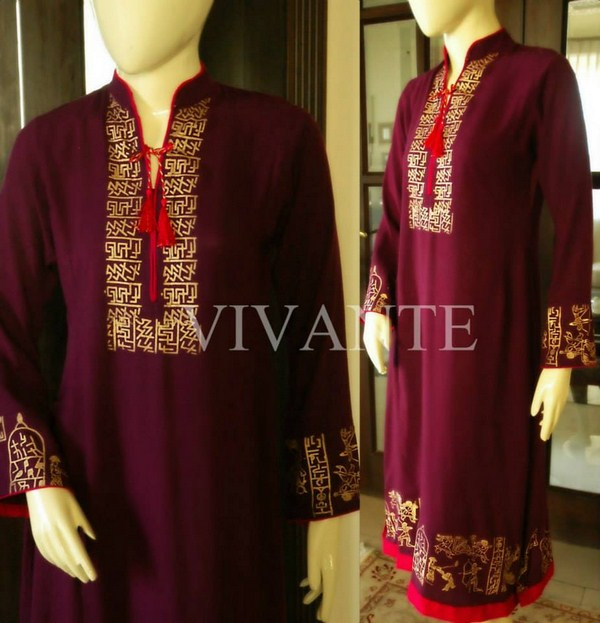 Vivante Winter Dresses 2014 For Women 004