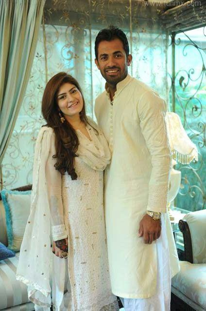 Wahab Riaz And Wife Zainab Wahab