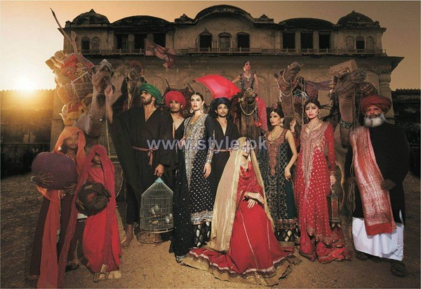 Zaheer Abbas Formal Dresses 2014 For Boys and Girls 1