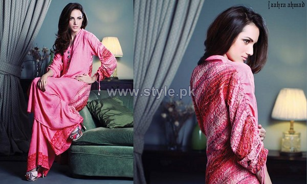 Zahra Ahmad Winter Arrivals 2014 For Girls 3