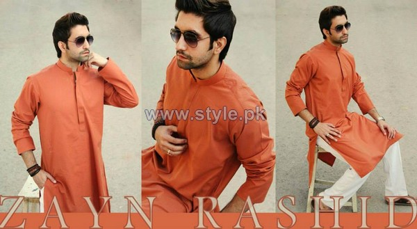 Zayn Rashid Winter 2014 Dresses For Men Volume 2 5