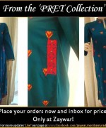 Zaywar Winter Dresses 2013-2014 For Women 002