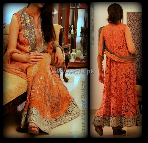 Anum Mansoor Winter Dresses 2014 For Girls 2