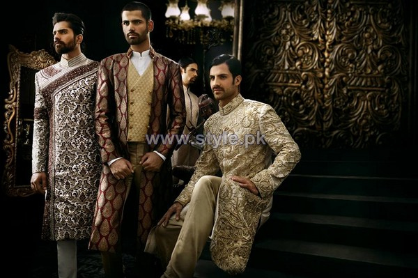 Arsalan Iqbal Sherwanis 2014 For Men 6