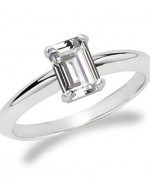 Best Emerald Cut Engagement Rings001