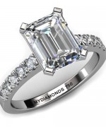 Best Emerald Cut Engagement Rings006