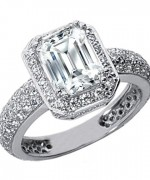 Best Emerald Cut Engagement Rings013