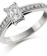 Best Emerald Cut Engagement Rings014