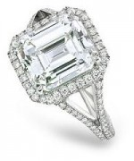 Best Emerald Cut Engagement Rings015