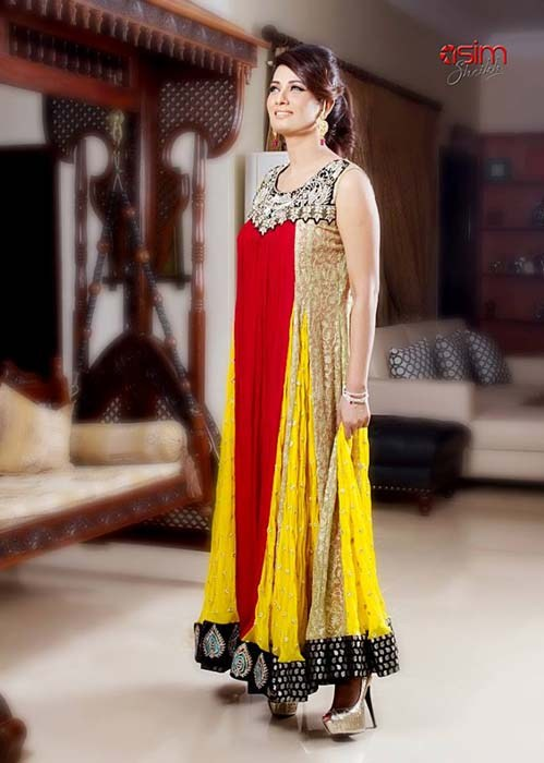 Bina Asghar Bridal Dresses 2014 For Women 007