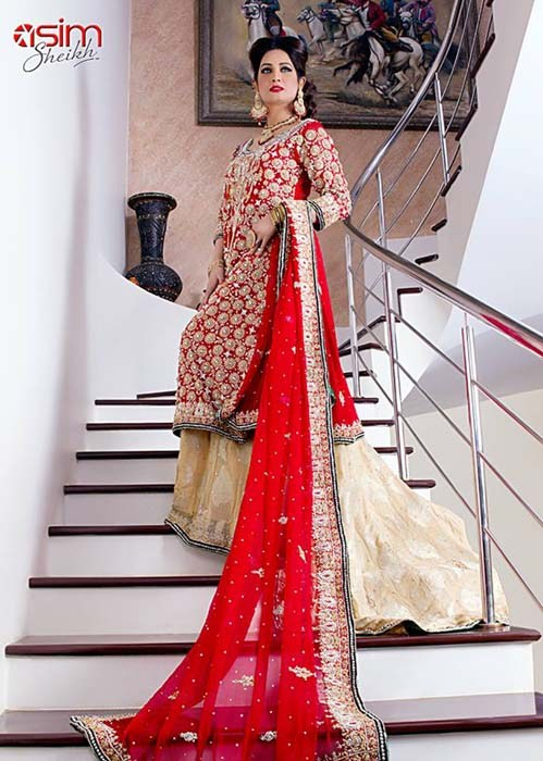 Bina Asghar Bridal Dresses 2014 For Women 008