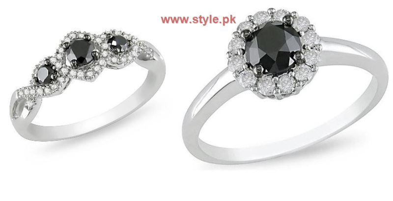 Black Diamond Engagement Rings Pictures