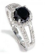 Black Diamond Engagement Rings002