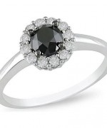 Black Diamond Engagement Rings004