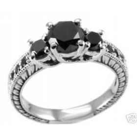 Wedding Rings Black Diamonds 71 Ideal Black Diamond Engagement Rings