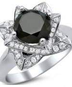 Black Diamond Engagement Rings008