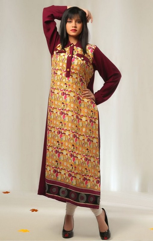 casual wear dresses 2014 for girls stylepk
