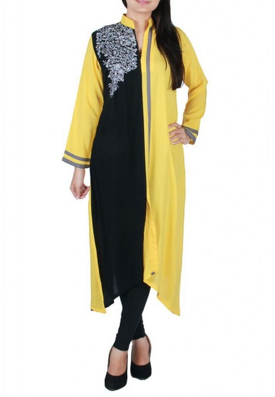 Casual Wear Dresses 2014 For Girls 005