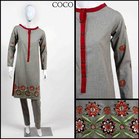 Coco Winter Dresses 2014 For Women