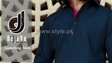 Deja Vu Kurta Shalwar Designs 2014 For Boys 1