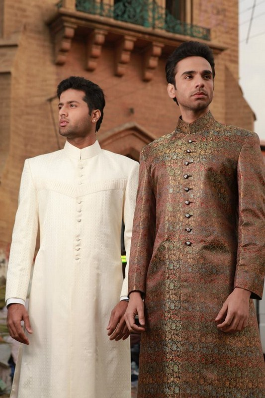 Designs Of Sherwani 2014 For Men 0010