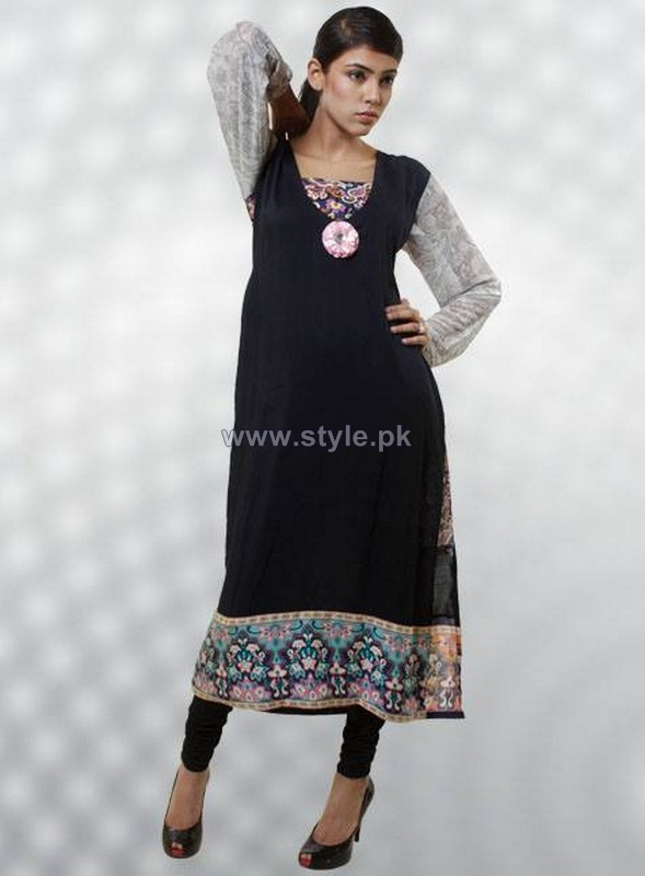 Dicha Kurti Designs 2014 For Girls 2