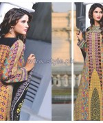 Eiza by UA Textile Winter Dresses 2014 For Girls 2