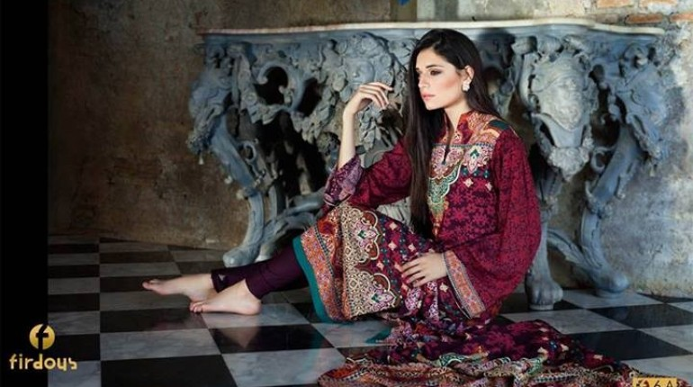 Firdous Digital Prints 2014 for Winter
