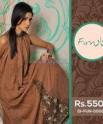 Funkaar Party Wear Dresses 2014 For Winter 2