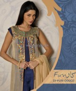 Funkaar Party Wear Dresses 2014 For Winter 4