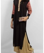 Grapes The Brand Winter Dresses 2014 For Women 003