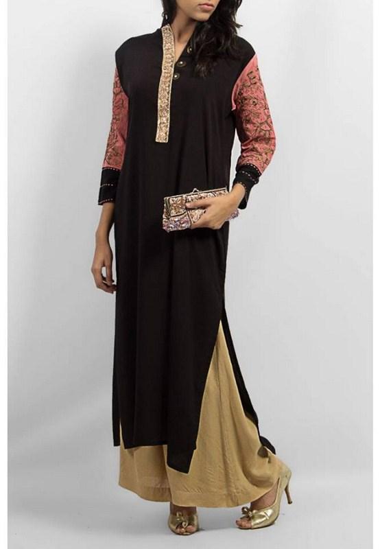 Grapes The Brand Winter Dresses 2014 For Women 003