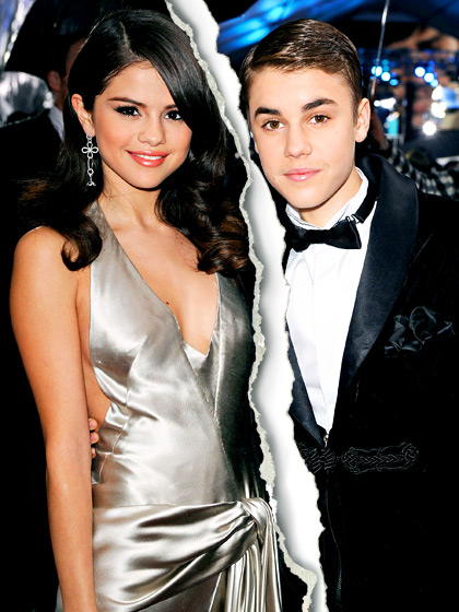 Hollywood Celebrity Splits Of 2013-Justin and Selena