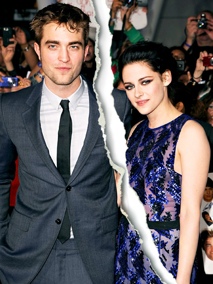 Hollywood Celebrity Splits Of 2013 Robert and Kristen