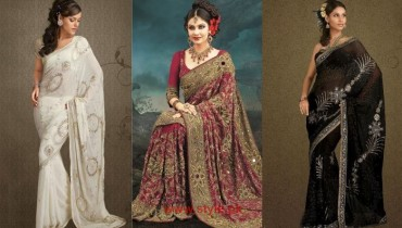 Indian Bridal Sarees 2014 Pictures