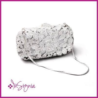 Insignia Bridal Shoes And Clutches 2014 For Women 003
