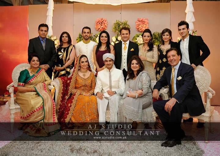 javed sheikh s son shehzad sheikh wedding pictures