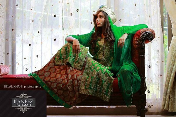 Kaneez Fatimah Bridal Dresses 2014 For Women 004