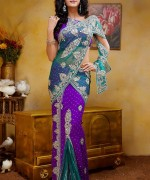 Latest Designs Of Indian Bridal Sarees 2014 For Women 0013