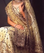 Latest Designs Of Indian Bridal Sarees 2014 For Women 001