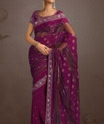 Latest Designs Of Indian Bridal Sarees 2014 For Women 004