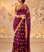 Latest Designs Of Indian Bridal Sarees 2014 For Women 007