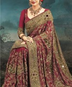 Latest Designs Of Indian Bridal Sarees 2014 For Women 0081 150x180 new fashion fashion trends